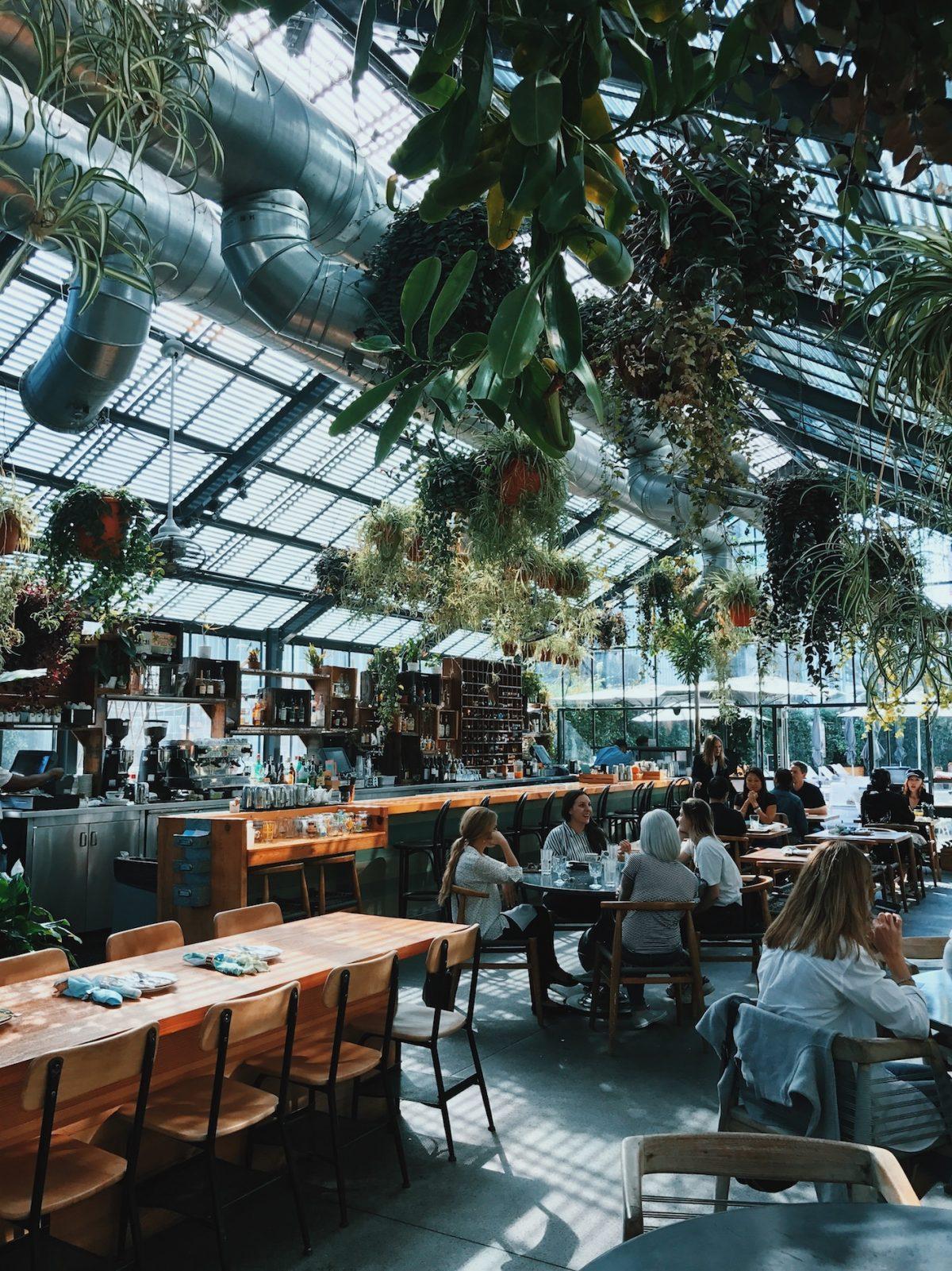 Användarvänlig energikälla för cafe och restaurang